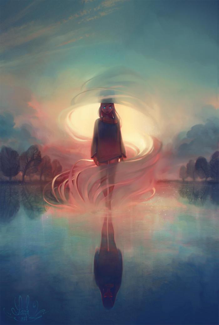 breathe by loish