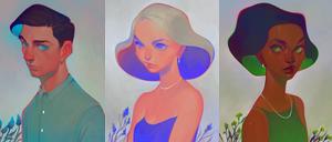 neon nostalgia by loish
