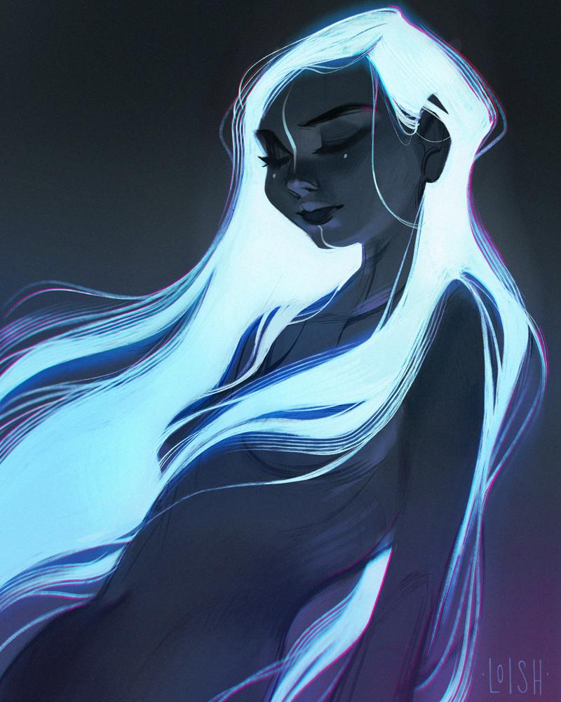 glow by loish