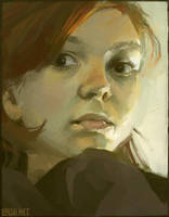 self portrait by loish