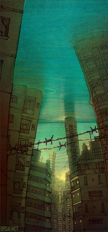 submerged by loish