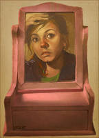 self portrait again by loish