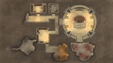 Battle Map (Warlock Tower A) by RiddleJacks