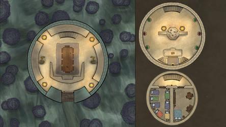 Battle Map (Warlock Tower B) by RiddleJacks