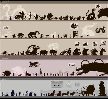 HUGE ASS Aman5 cast size chart by Ribbontail