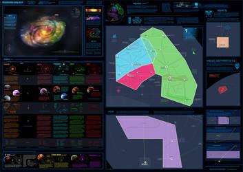 Raurana galaxy field guide by Ribbontail