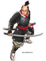 Samurai by Rusc
