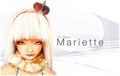 WiP Mariette by KlaudiaK