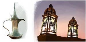 in arabic style by KlaudiaK