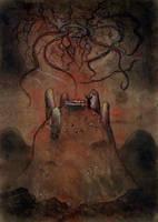 The Dunwich Horror- Sentinel Hill by eitherangel
