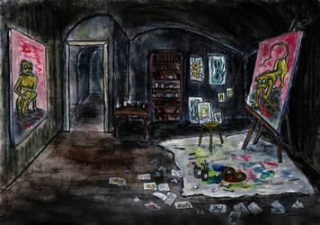 Pickmans Studio by eitherangel