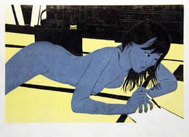 The Letter I 'Lemon-Black' by kimOSAKA