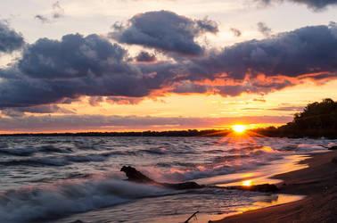 Sunrise on the Lake by Kyle197