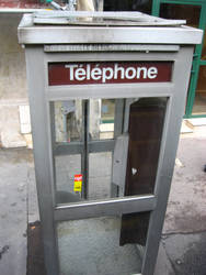 A phone booth by EmilNAL