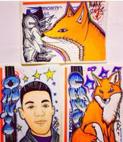Custom Stickers Fan Art by NiMAKk