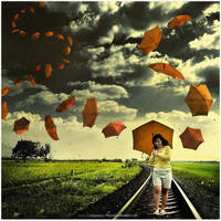 Dragon Umbrella by Widyantara