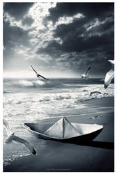 The Lost boat by Widyantara