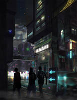 AAA Street by RaVirr17