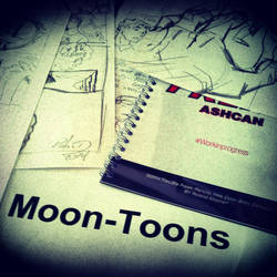 Working on the new project by Moon-Toons