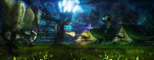 trouble in fairyland by Kallunke