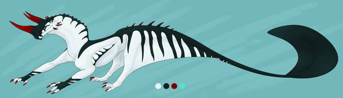 (ADOPT SALE) Fin-Tailed Drake (Closed) by Doragon-LW