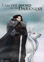 A series of Ice and Fire - Jon Snow by Blueberry-me