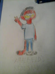 Ralph Amaralfield Redesigned by ElmerMouseFan34