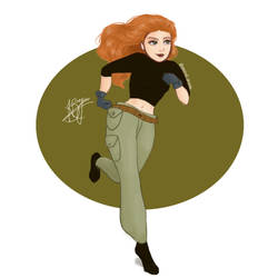 Kim Possible by pastelshark1103