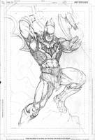 He-bat....or BatMAN? by Kevin-Sharpe