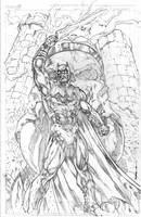 Batman master of the universe by Kevin-Sharpe