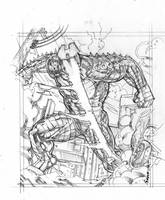 Legendary: Destroyer Armor by Kevin-Sharpe