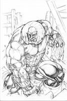 Juggernaut commission by Kevin-Sharpe