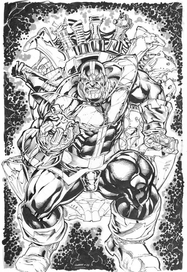 Thanos  commission by Kevin-Sharpe