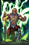 He-Man new 52 in color by Kevin-Sharpe