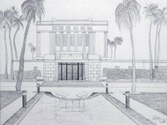 Mesa Temple by Tukoai