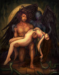 Admetus and Alcestis by LeoDeMoura