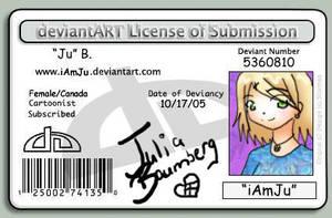 DevLicense ID by iAmSprFstJellyfish