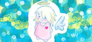 Facebook Angel by iAmSprFstJellyfish