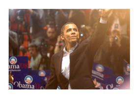Barack Obama by tarnishedhalo