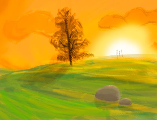 Fast Landscape (20 minutes) by Vanites