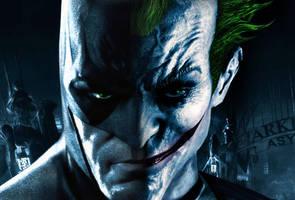 Batman-Joker Photo Manipulation by El-Fox