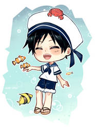 Sailor Luffy by Ayat-Chan