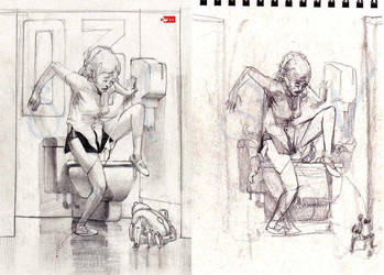 assignment sketches by Yaroslav
