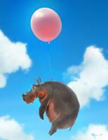 When Hippos Fly by Yaroslav
