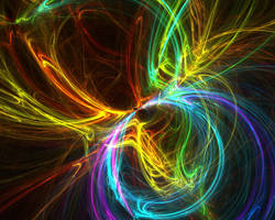 Wallpaper - Abstract IX by dizfunctionality