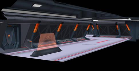Max Steel Enviroment Images:  THI Cooridoor set 1 by zephre