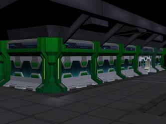 Max Steel Enviroment Images: NTek Cooridoor set 3 by zephre