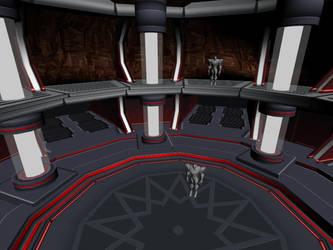 Boss Arena: Miles Dredd Boss Fight by zephre