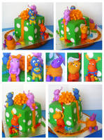 Backyardigans cake by Cakerific