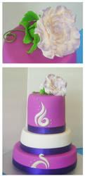 Sweet 16 cake by Cakerific